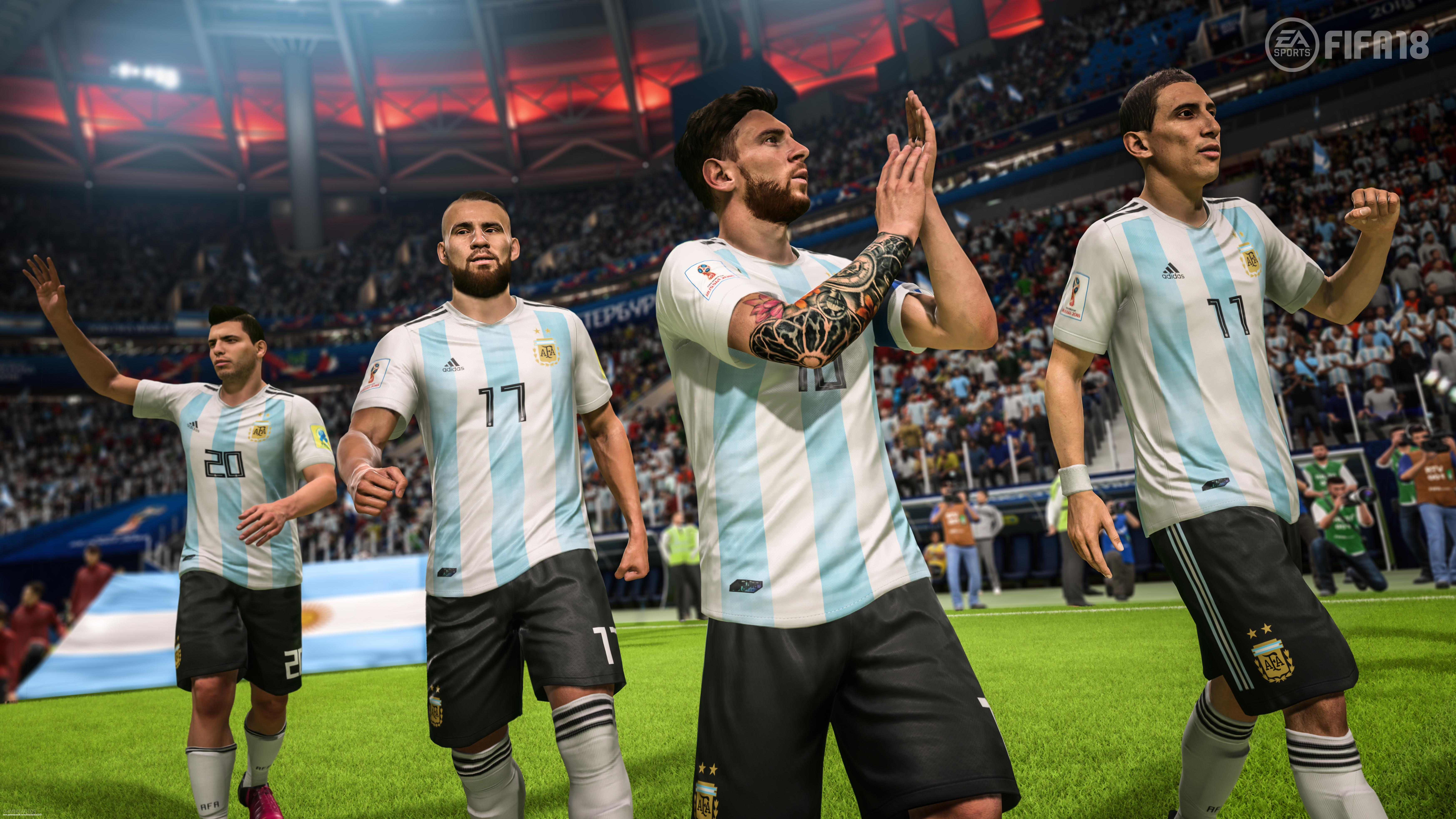 974daddc1 2018 FIFA World Cup Russia Review - Gamereactor - FIFA 18 - Gamereactor