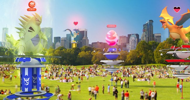 Raids are coming to Pokémon Go