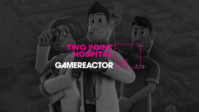 We're playing the infectious Two Point Hospital on GR live