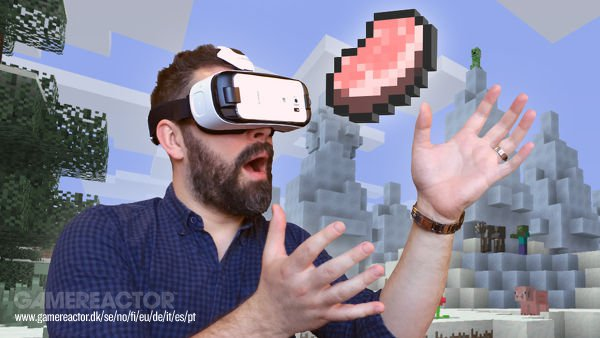 Minecraft debuts today on Samsung Gear VR