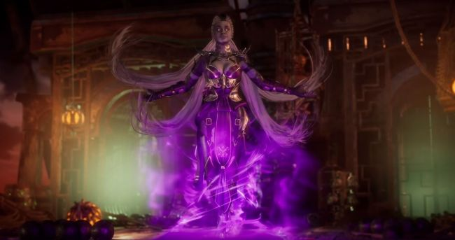 Sindel joins the Mortal Kombat 11 roster this month