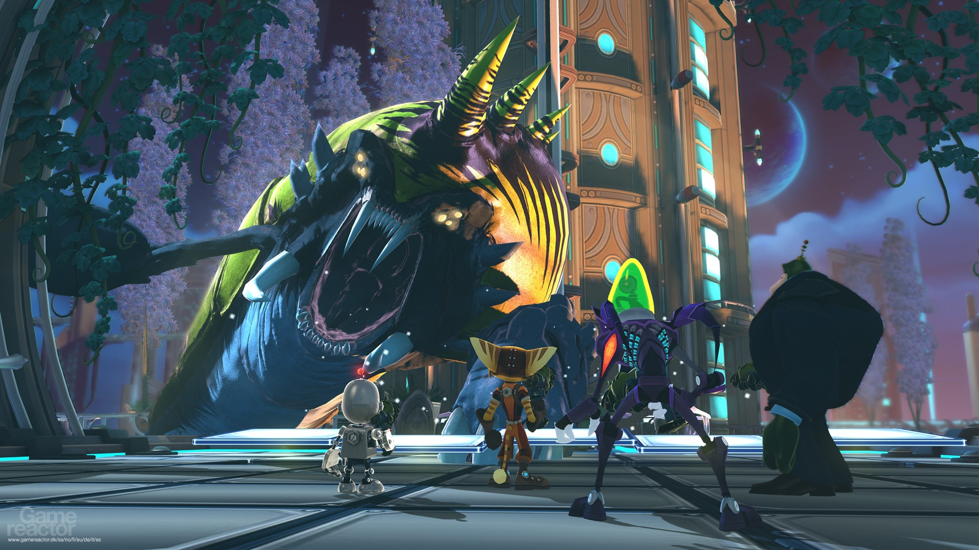 Pictures Of Ratchet Clank All 4 One 10 22