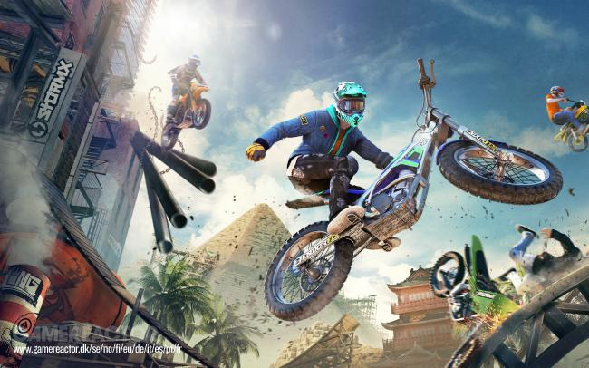 Trials Rising rides into Gamescom with new trailer