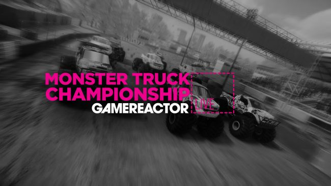 We're playing Monster Truck Championship on today's GR Live