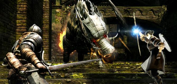 Watch us play the first two hours of Dark Souls: Remastered