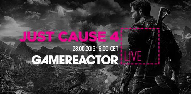 Just Cause 4 flies onto our livestream today