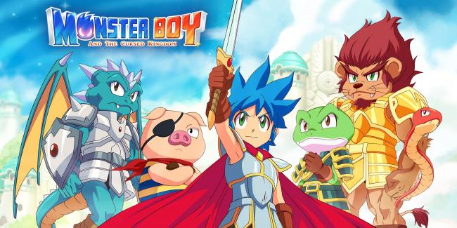 Monster Boy and the Cursed Kingdom has a great launch week
