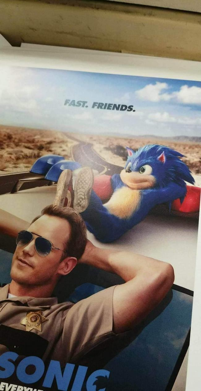 Is this how Sonic will look in the live-action film?