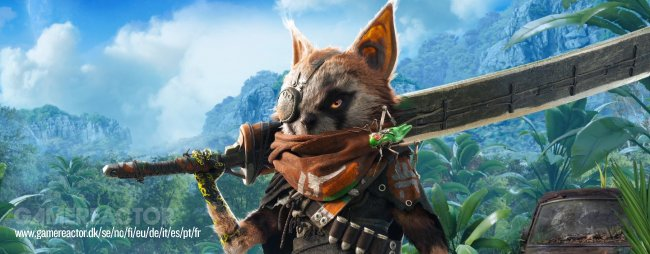 Biomutant trailer gives us a good look at the world