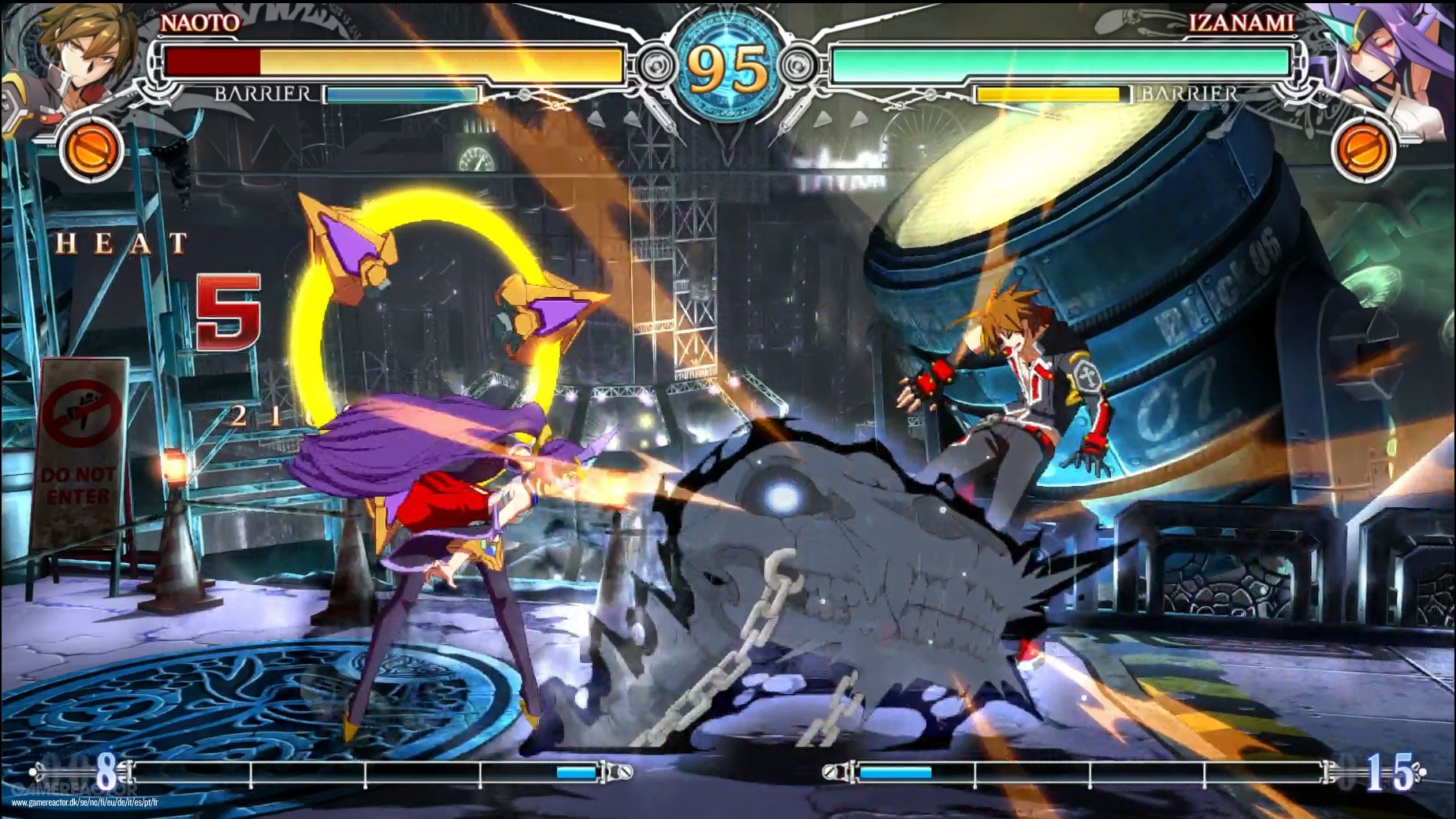 Blazblue: Central Fiction Review - Gamereactor
