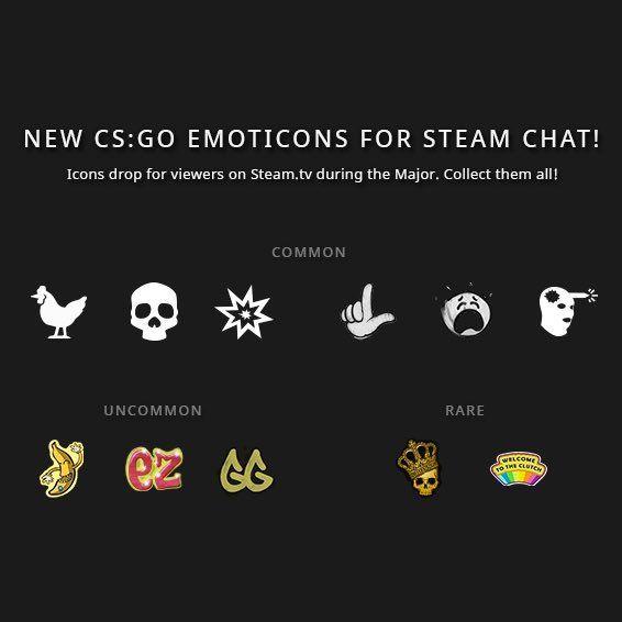New CS:GO Steam emotes land alongside the Faceit Major