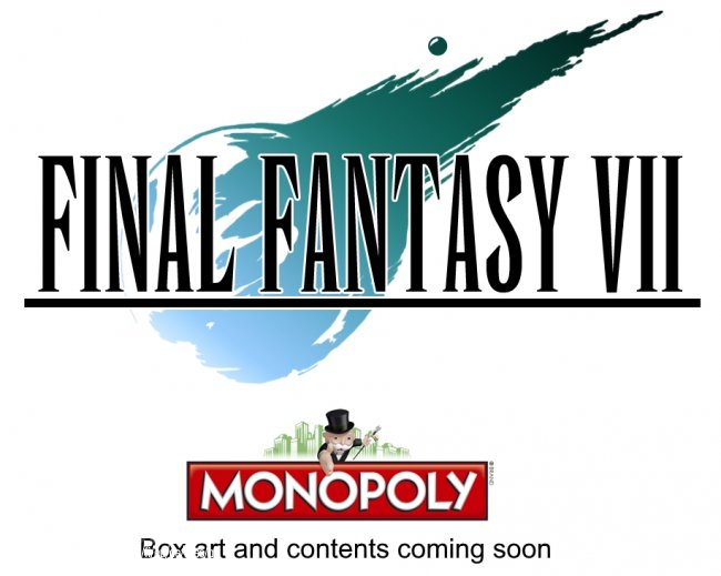 Final Fantasy VII Monopoly is real