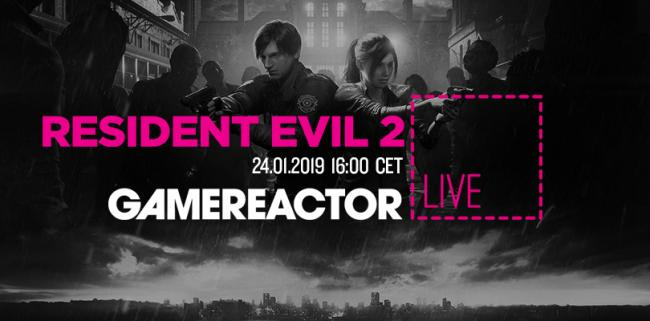 Resident Evil 2 is up on today's livestream