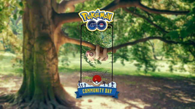 Pokémon Go's June Community Day features Slakoth