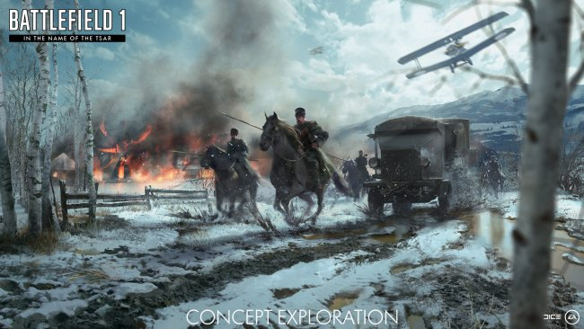 Battlefield 1 Revolution and Incursions announced