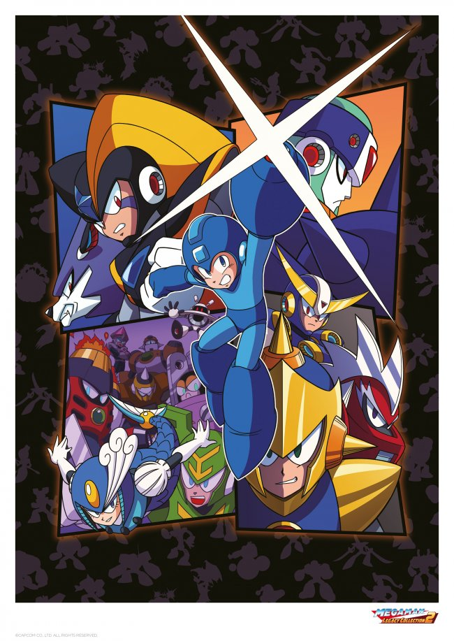 Funstock Retro launch limited edition Mega Man prints