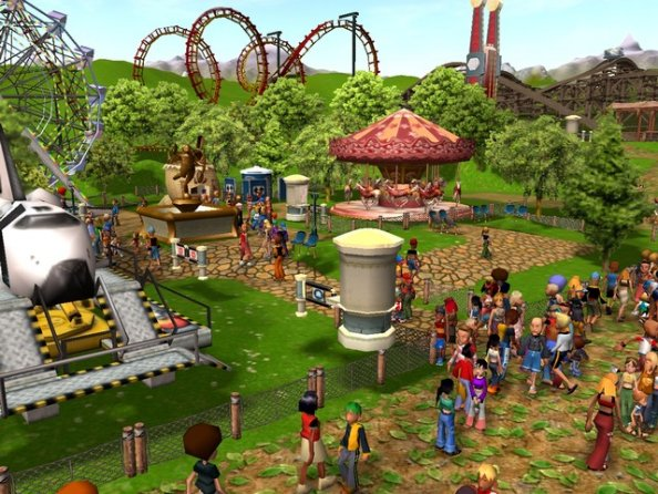 Pictures of Rollercoaster Tycoon 3D 10/10