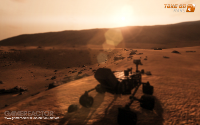 Take On Mars to land in three weeks' time