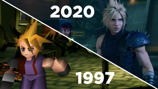 Watch Gamereactor's FFVII PS4 vs PSX face-off