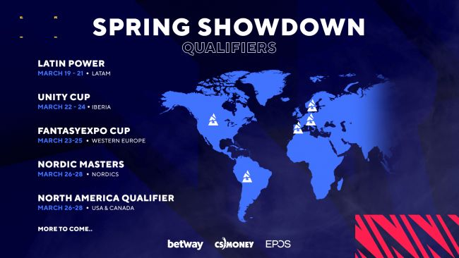 BLAST Premier announces expanded Spring Showdown qualifiers