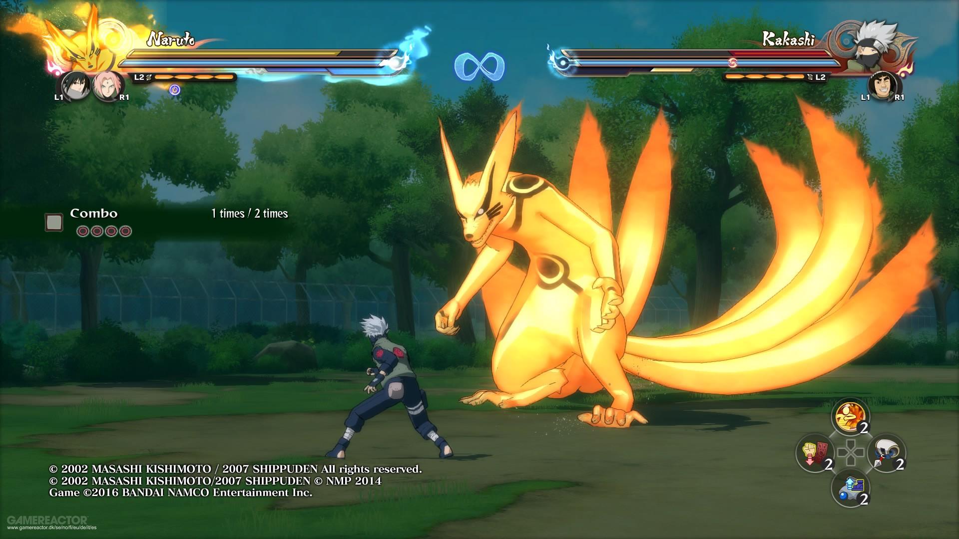 Naruto ninja storm 4 switch