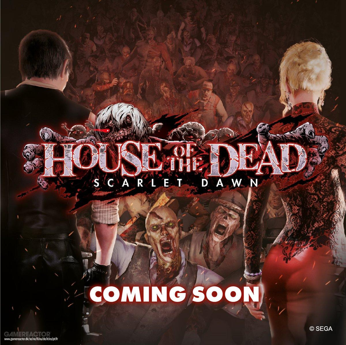 House Of The Dead Scarlet Dawn Coming To West