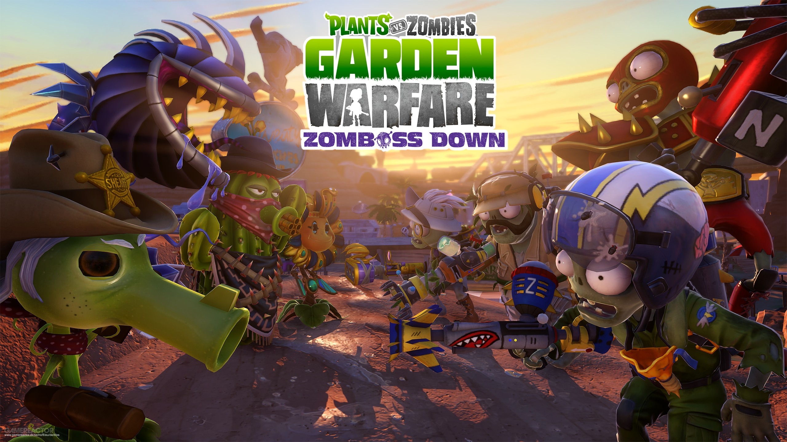 Pictures of Garden Warfare gets Zomboss Down DLC 1/5