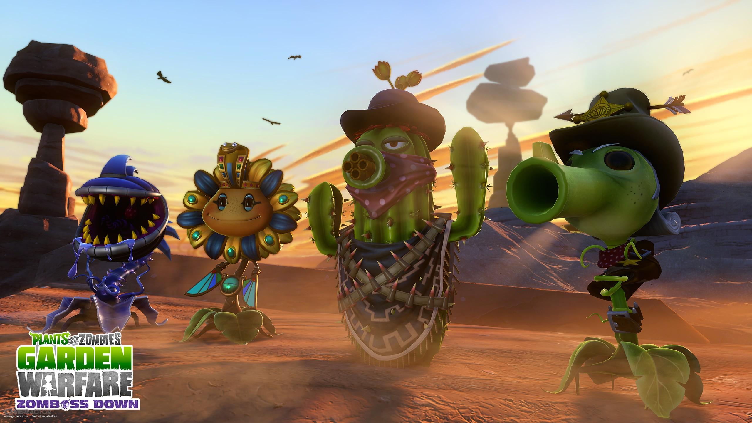 Pictures of Garden Warfare gets Zomboss Down DLC 2/5