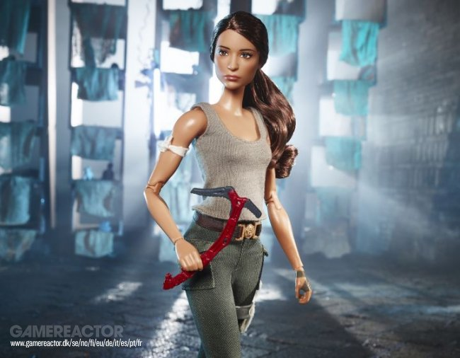 Mattel working on Tomb Raider-themed Barbie