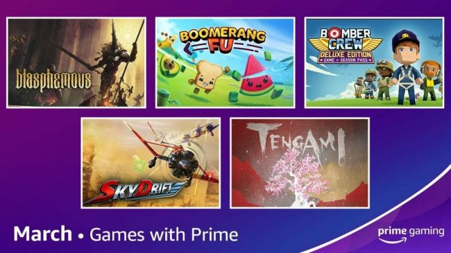March's Games with Prime line-up has been revealed
