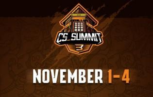 CS_Summit 3 starts on November 1, all teams revealed
