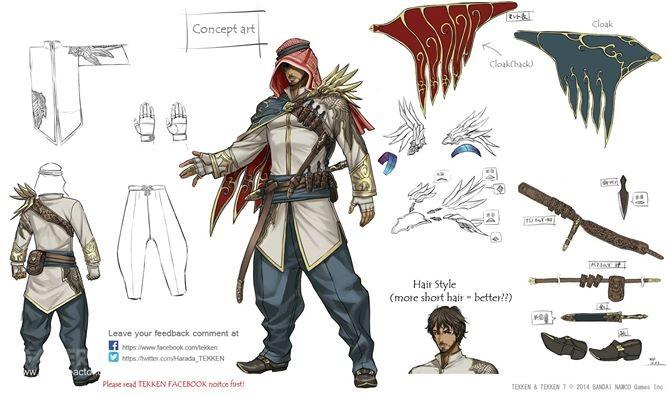 Pictures Of New Fighter Shaheen Confirmed For Tekken 7 2 2