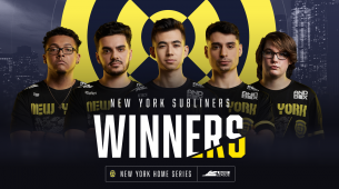 Subliners are champions of the 2020 CDL New York Home Series