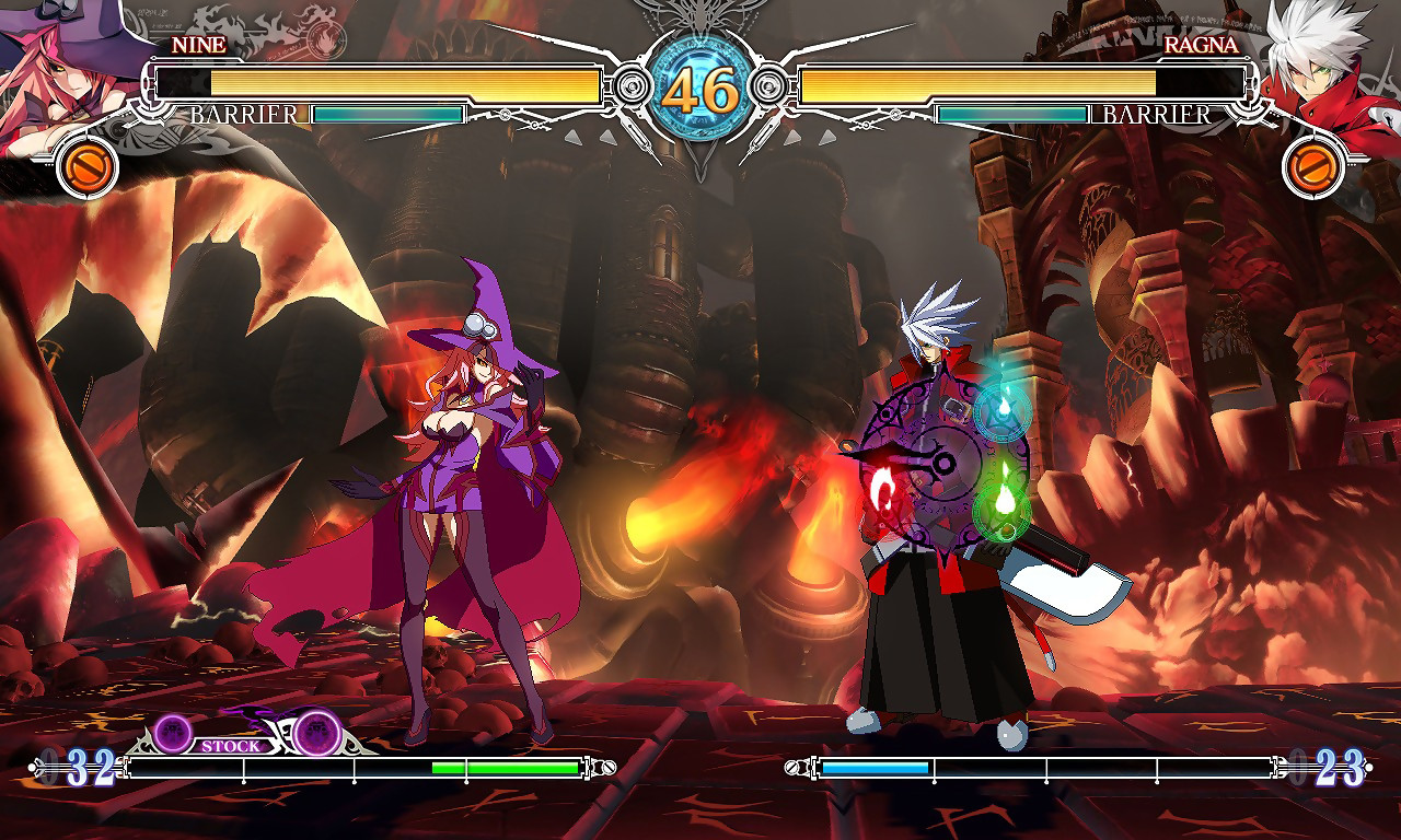 Pictures of Blazblue: Central Fiction is coming next month 3/3