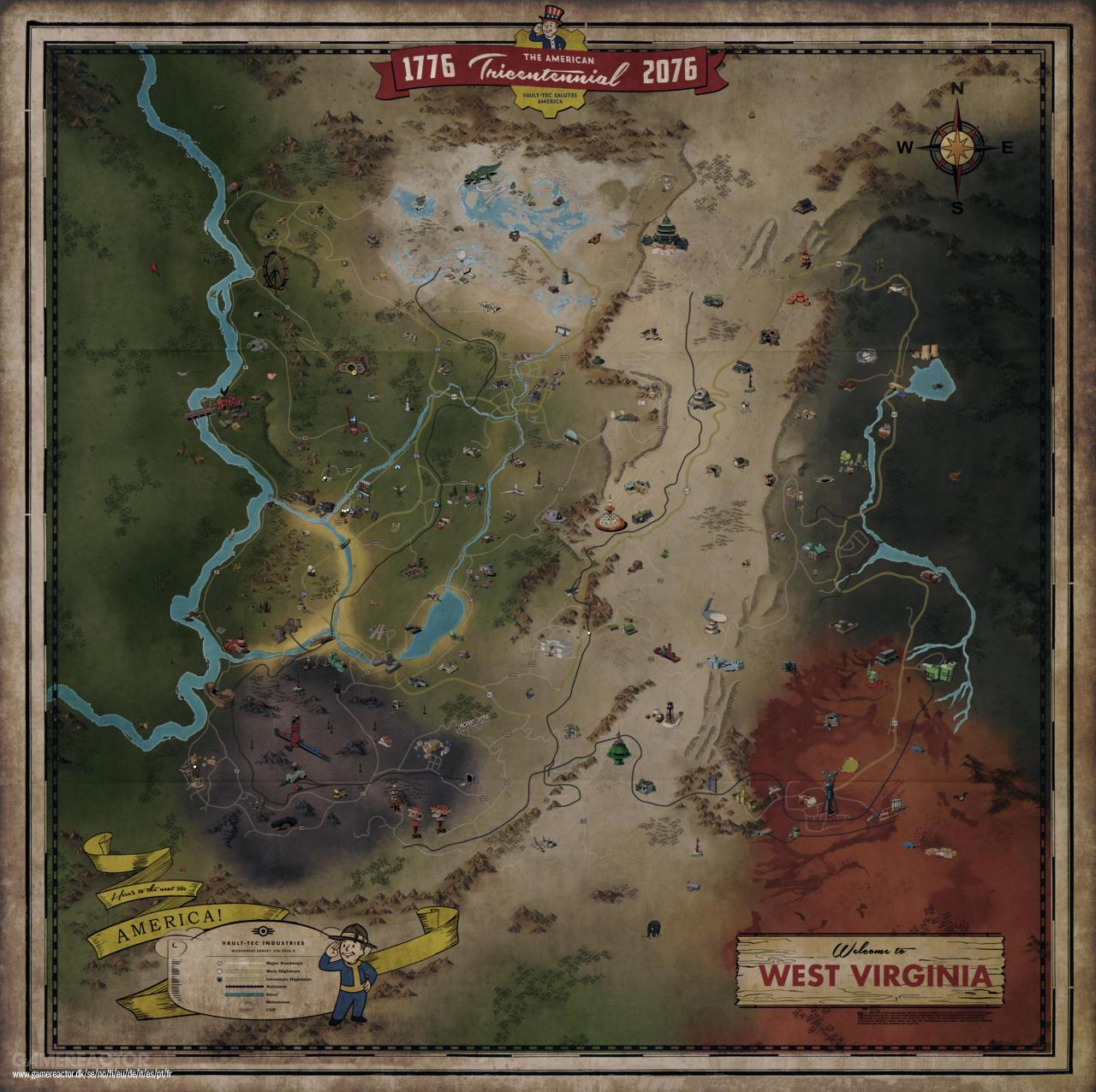 Fallout New Vegas Map Locations Revealed | www.topsimages.com