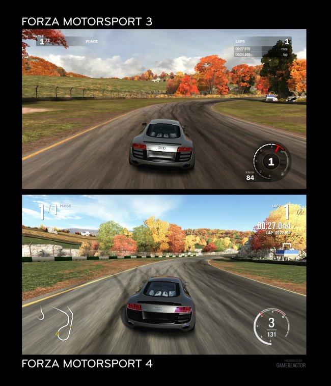 Forza 3 vs Forza 4 - Forza Motorsport 4 - Gamereactor