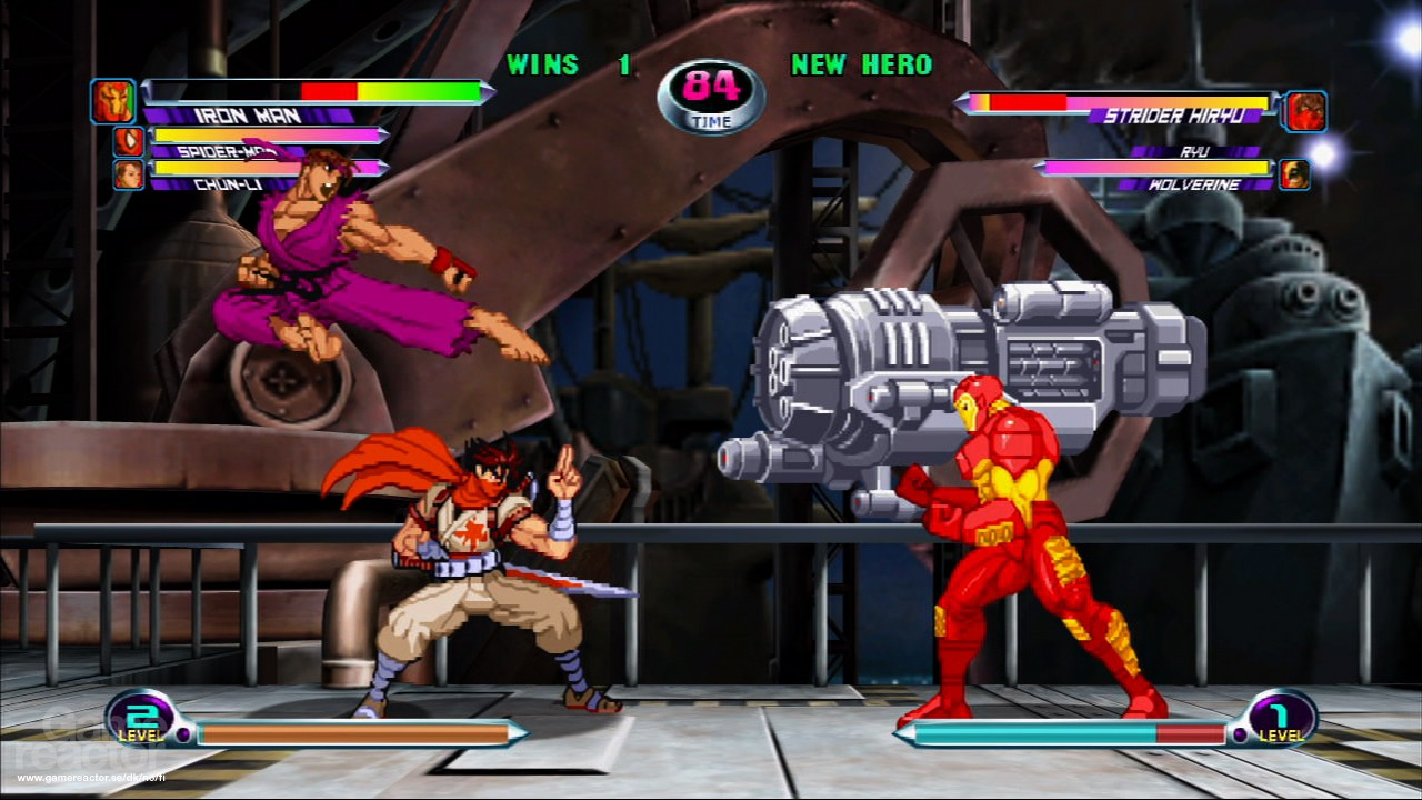 Marvel vs. Capcom 2: New Age of Heroes Review - Gamereactor