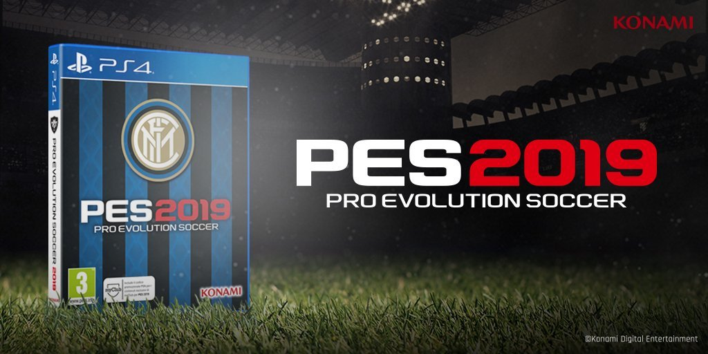 Inter Milan Special Edition announced for PES 2019 - Pro Evolution