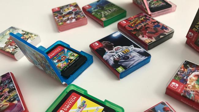 Check out these tiny Nintendo Switch cases