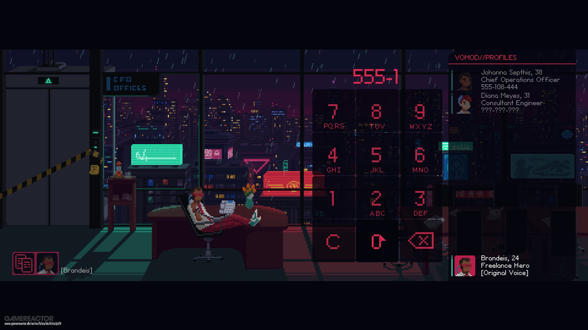 The Red Strings Club Review Gamereactor