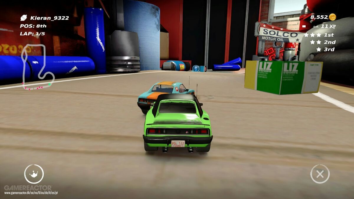 Table Top Racing World Tour Review Gamereactor Soloco Ecer 2 Pcs