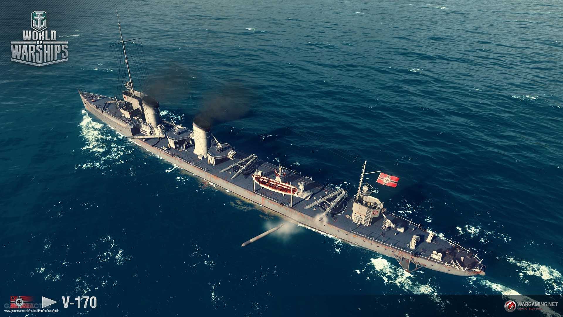 Pictures of German destroyers coming to World of Warships 4/9