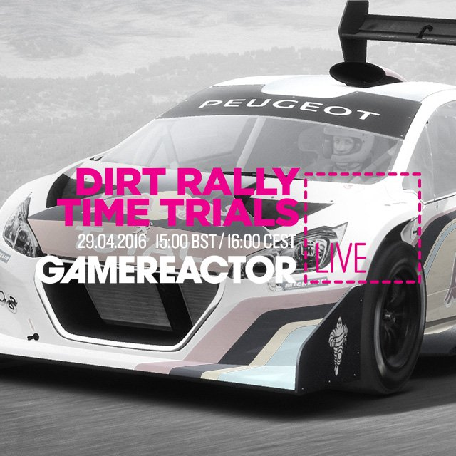 Today's GR Live: Dirt Rally Time Trials