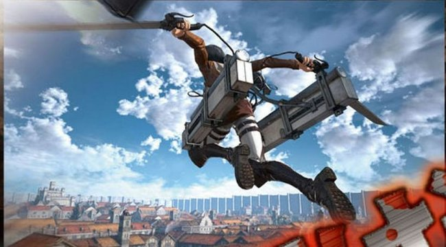 First screens and art from Attack on Titan game - Attack on