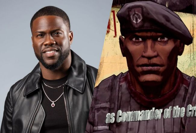 Kevin Hart confirmed as Roland in Borderlands movie