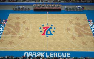 76ers Gaming Club reveal digital court and uniforms
