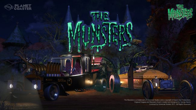 Planet Coaster gets new film-themed DLCs