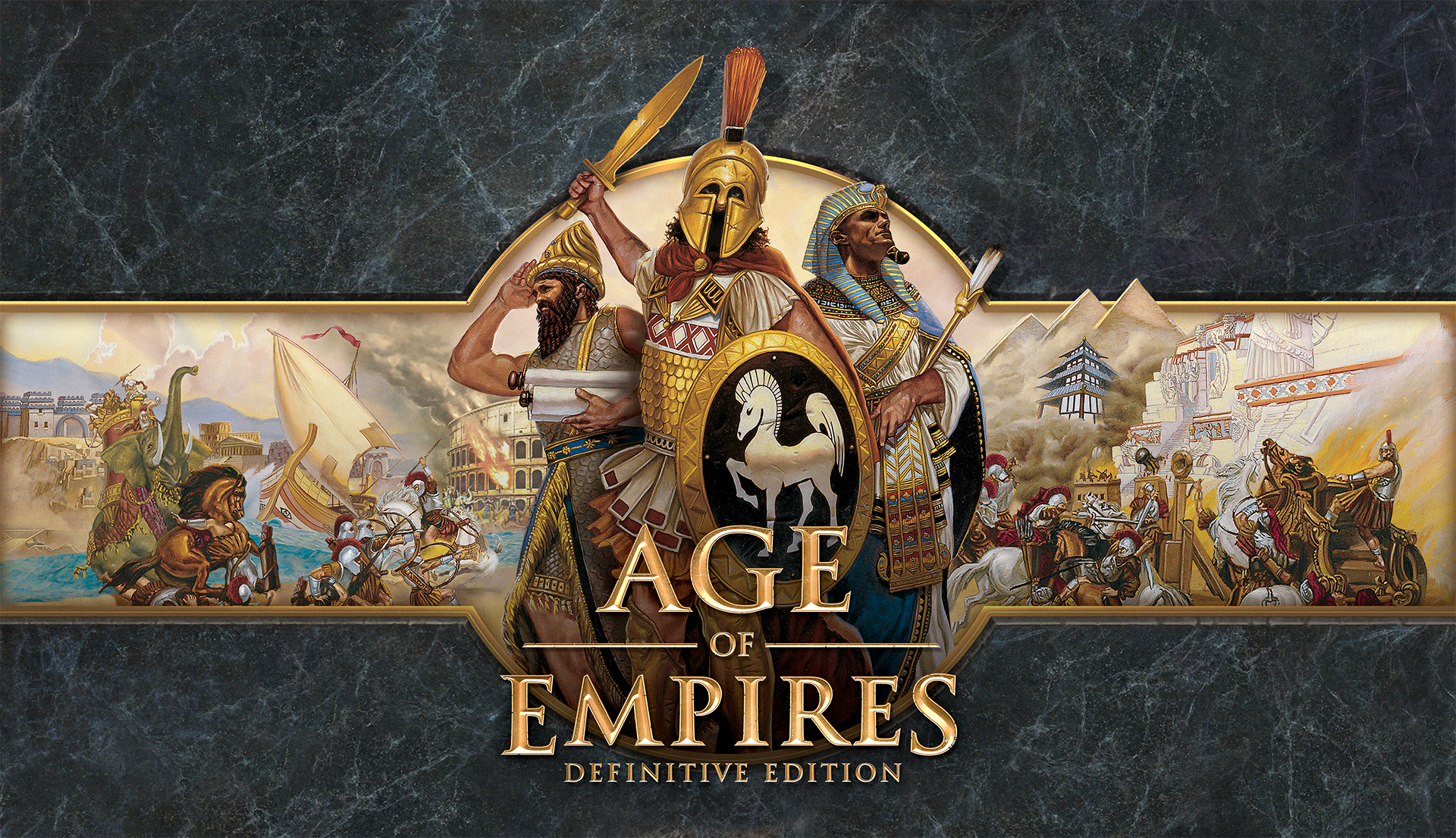 Portada del Age of Empires Definitive Edition