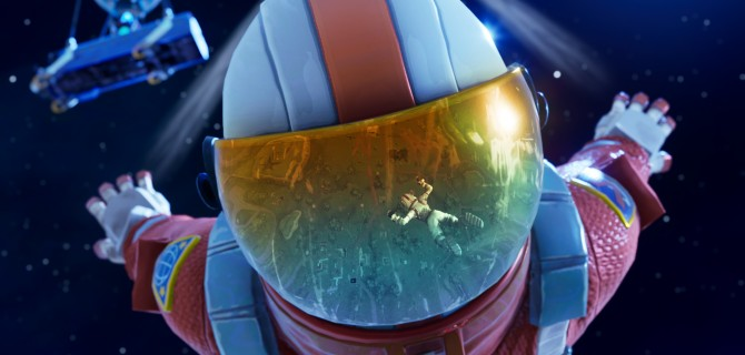 Fortnite: Battle Royale goes to space in its third season