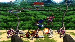 Guardian Heroes Screens, art